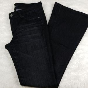 WHBM Slim Flare Jeans